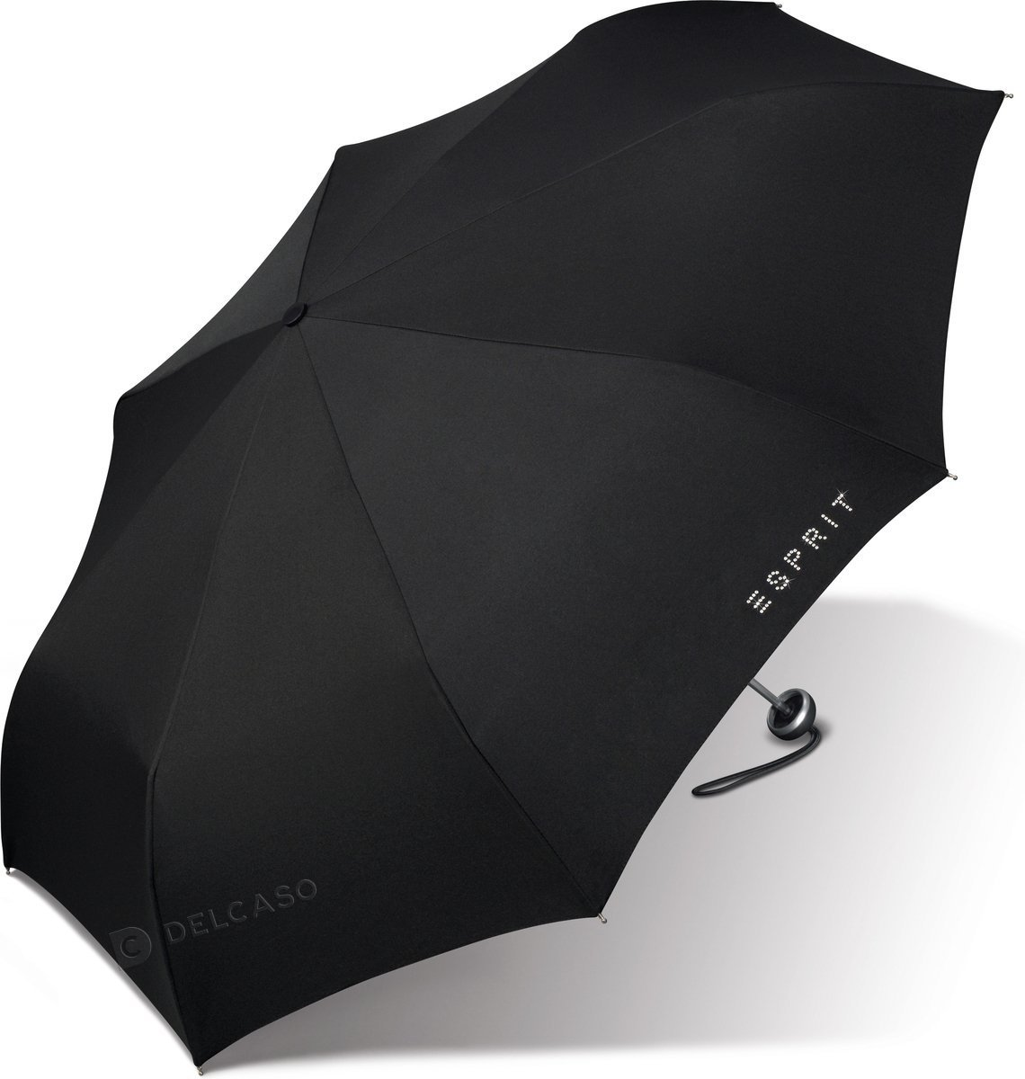 Parasol Esprit Mini Alu Light Diamond czarny