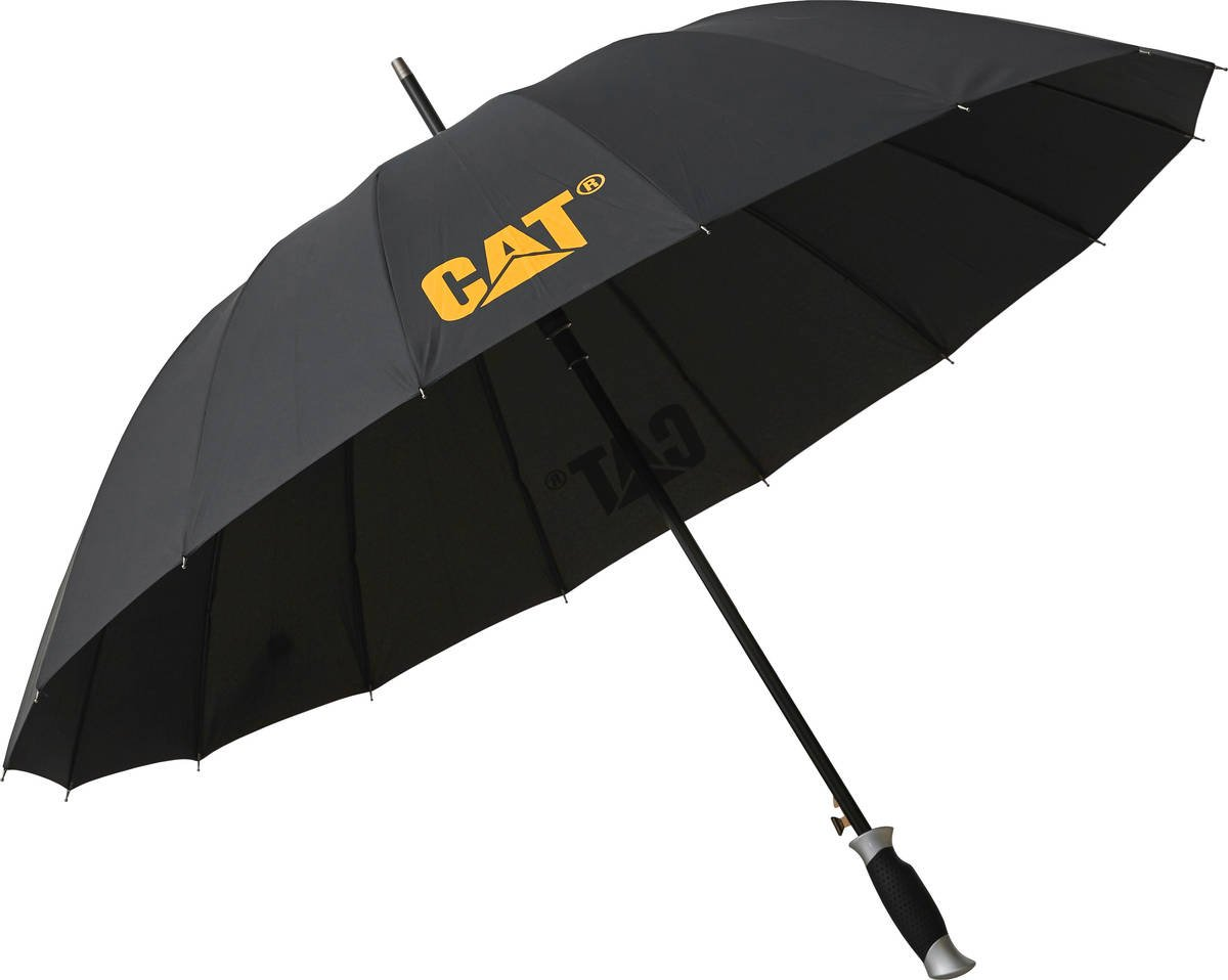 Parasol długi CAT Caterpillar Lash czarny