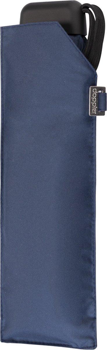 Parasol kieszonkowy Carbonsteel Mini Slim Doppler granatowy