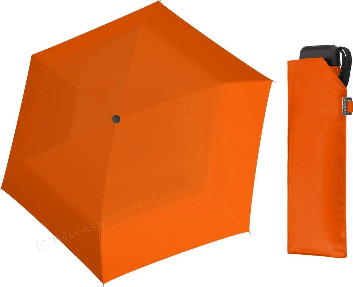 Parasol kieszonkowy Carbonsteel Mini Slim Doppler orange