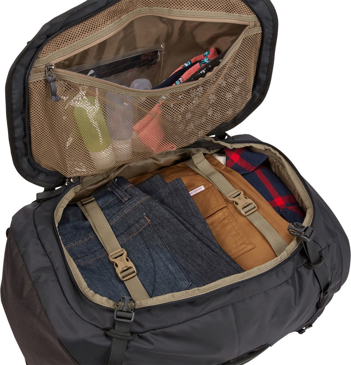 Plecak podróżny turystyczny Thule Landmark 40L czarny