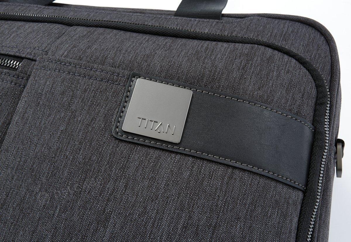 "Torba na laptopa do 15,6"" Titan Power Pack antracytowa"