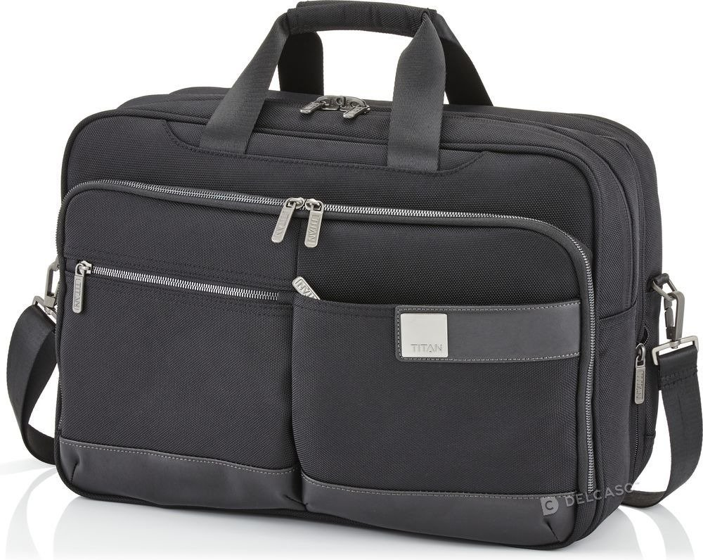 "Torba na laptopa do 15,6"" Titan Power Pack czarny"