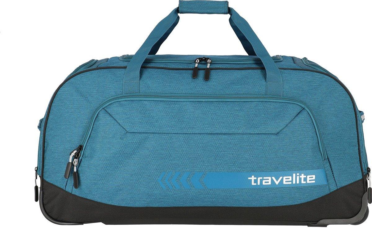 Torba podróżna na kółkach Kick Off Travelite niebieska