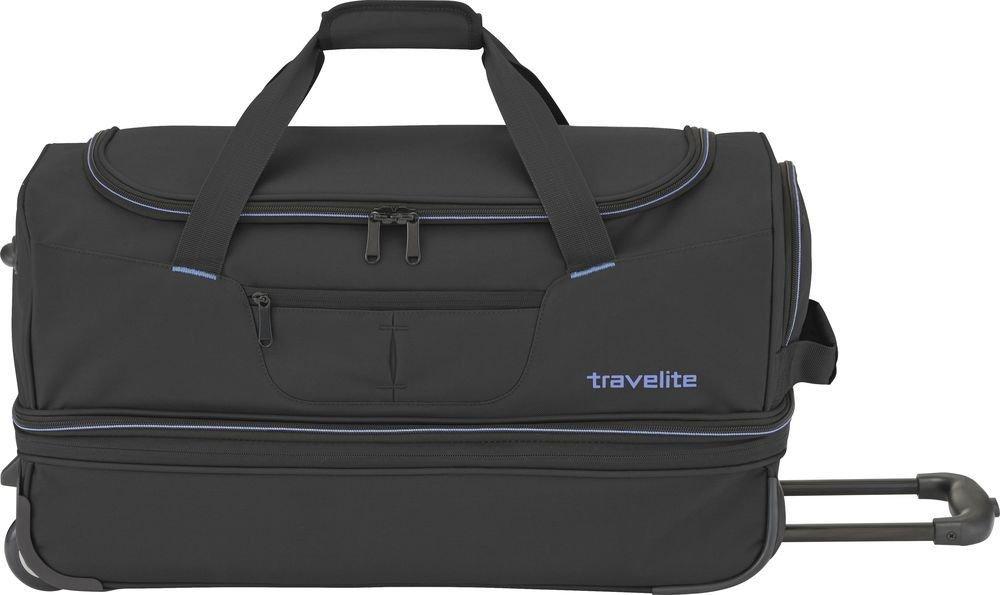 Torba podróżna na kółkach Travelite Basics S 64L Czarna