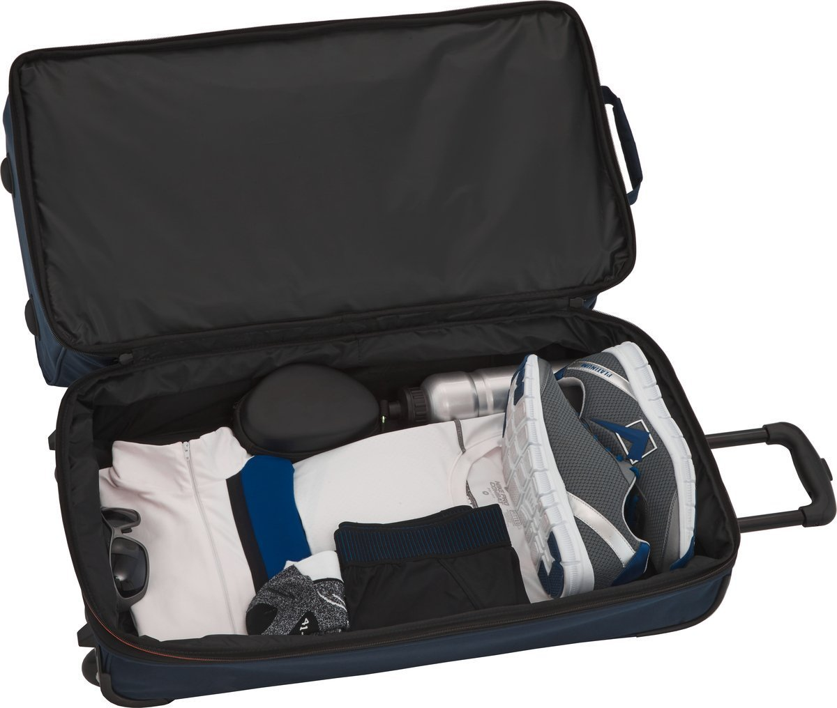 Torba podróżna na kółkach Travelite Basics S 64L Granatowa