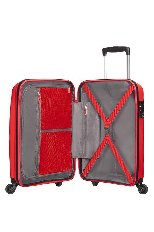 Walizka American Tourister Bon Air 55 cm czerwona