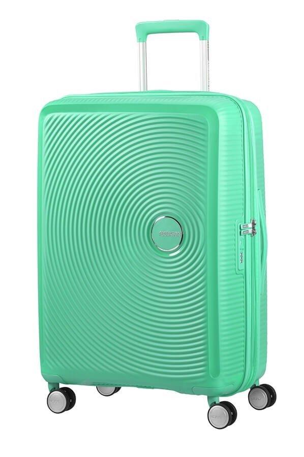 Walizka American Tourister Soundbox 67 cm powiększana zielona