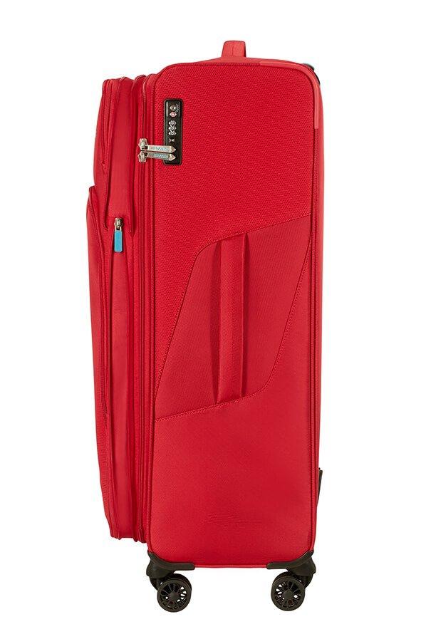 Walizka American Tourister Summerfunk na 4 kołach 79 cm czerwona