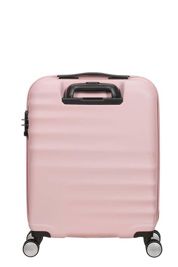 Walizka American Tourister Wavebreaker 55 cm jasno różowa