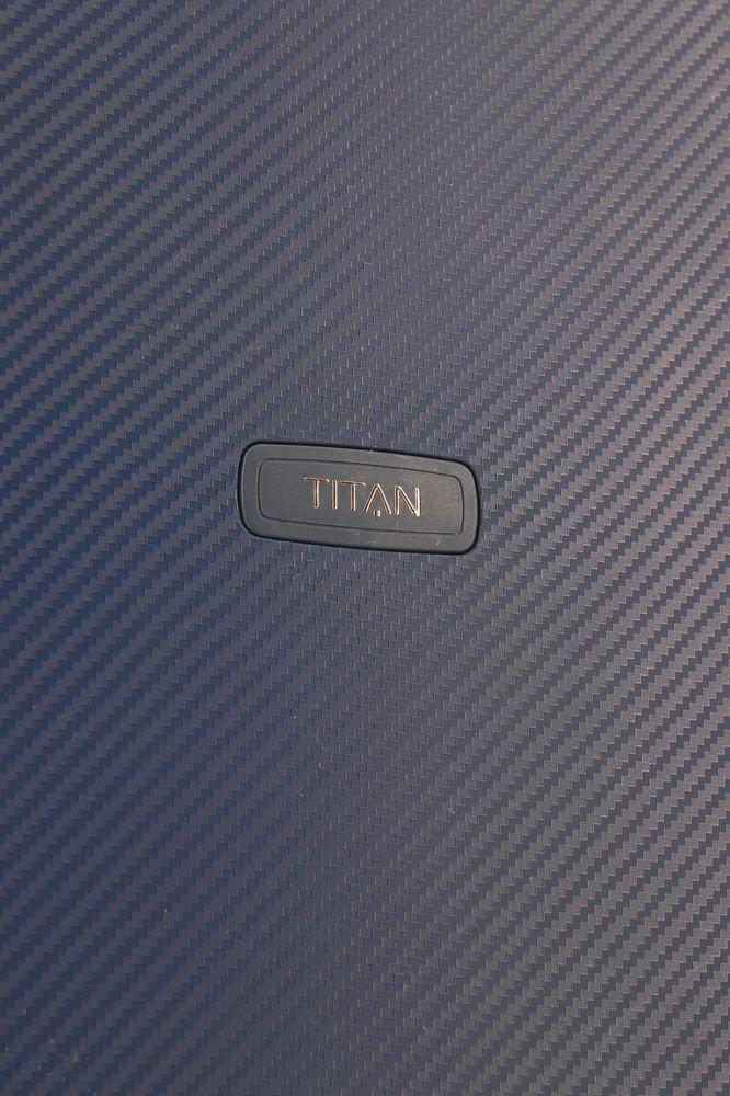 Walizka duża Titan Compax 74 cm granatowa