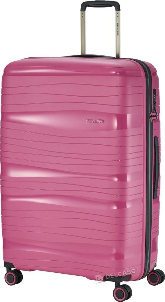Walizka duża Travelite Motion  77 cm różowa