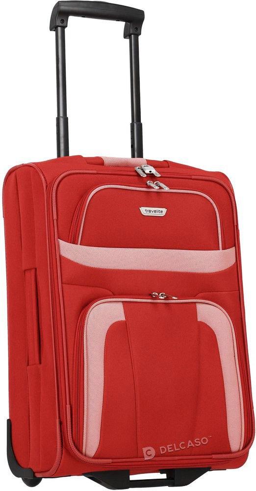 Walizka kabinowa 2-kółkowa Travelite Orlando 53 cm mała czerwona