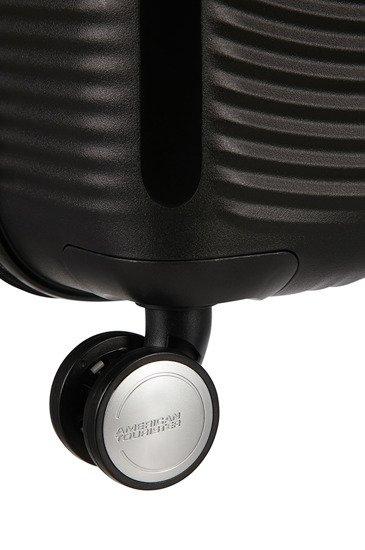 Walizka kabinowa American Tourister Soundbox 55 cm powiększana czarna