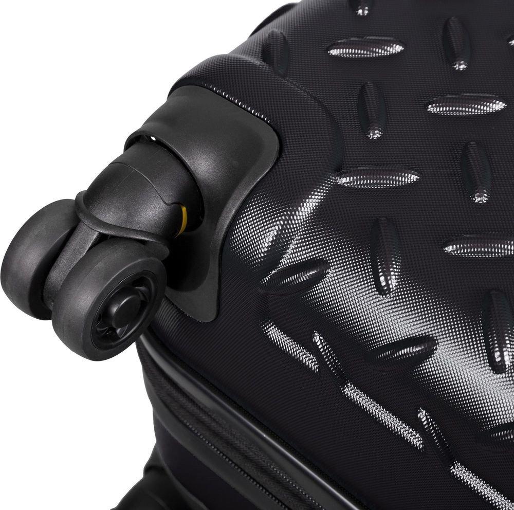 Walizka kabinowa Cat Caterpillar Industrial Plate 55 cm mała czarna