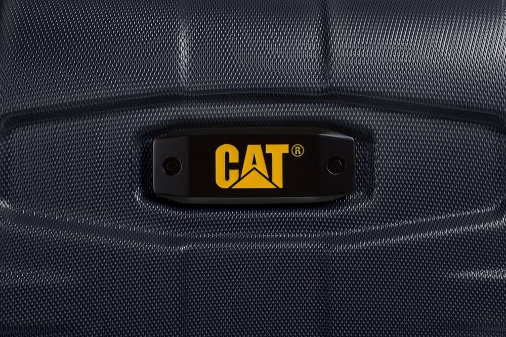 Walizka kabinowa Cat Caterpillar Tank 57 cm mała czarna