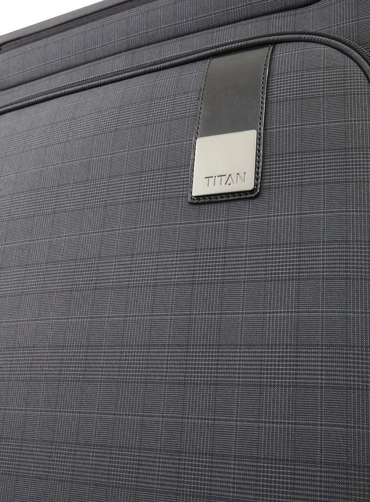Walizka kabinowa Titan CEO 55 cm mała antracytowa