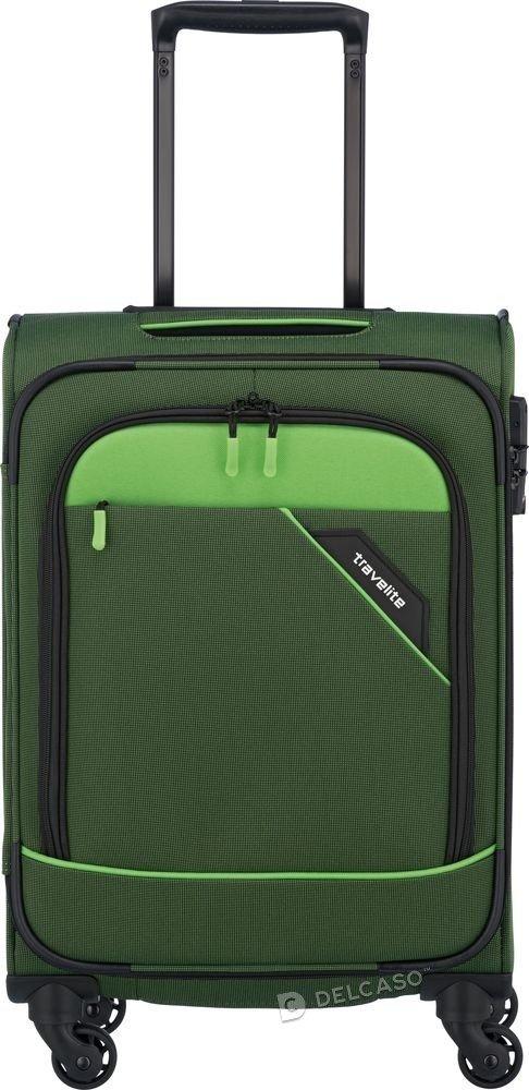 Walizka kabinowa Travelite Derby 55 cm mała zielona