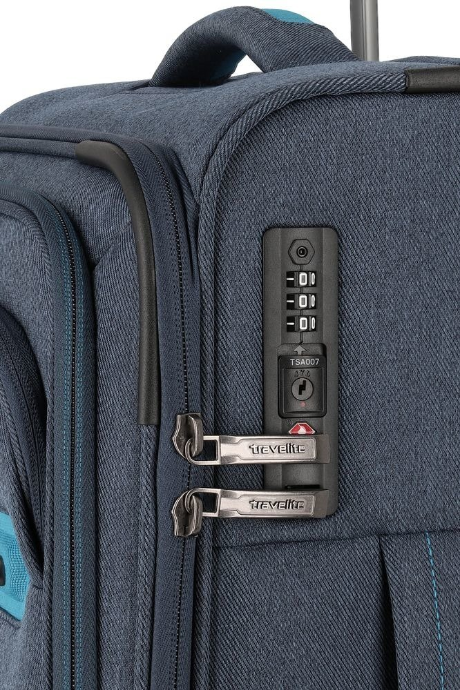 Walizka kabinowa Travelite Madeira 55 cm mała granatowa
