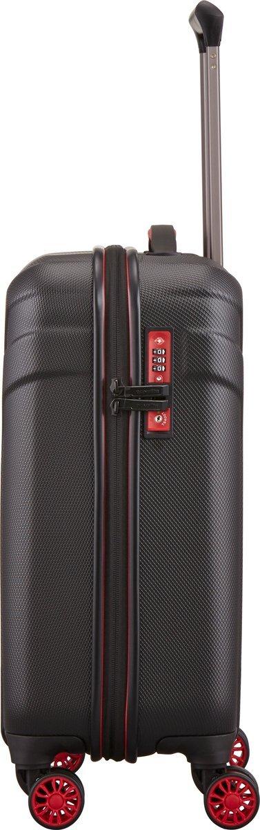 Walizka kabinowa Travelite Vector 55 cm mała czarna