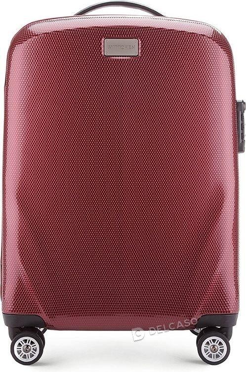Walizka kabinowa Wittchen PC Ultra Light 56 cm mała czerwona