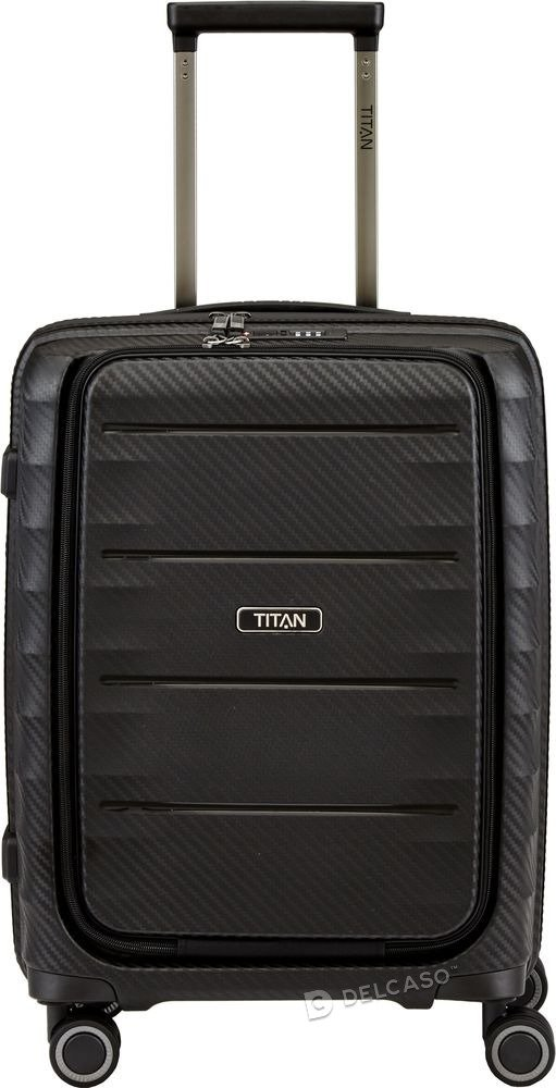 Walizka kabinowa - biznesowa Titan Highlight 55 cm mała czarna