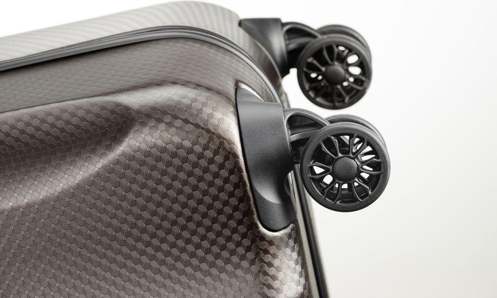 Walizka kabinowa - biznesowa Titan Xenon Deluxe 55 cm mała brązowa