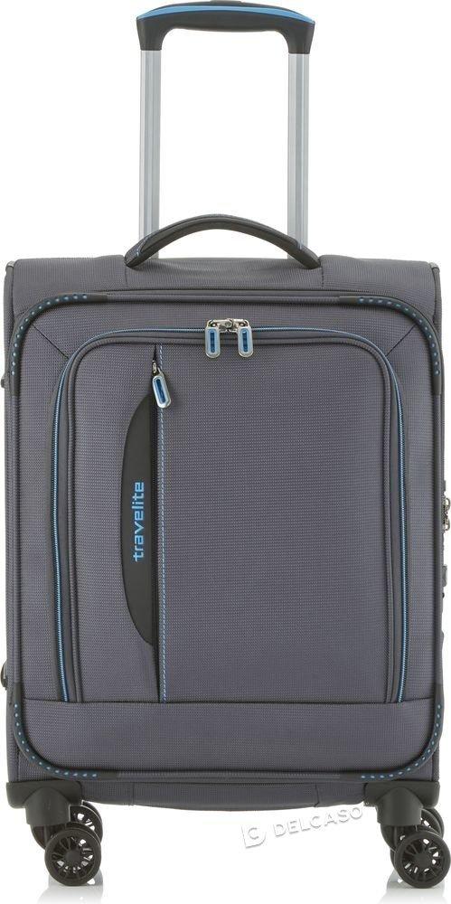 Walizka kabinowa biznesowa Travelite CrossLite 55 cm mała antracytowa