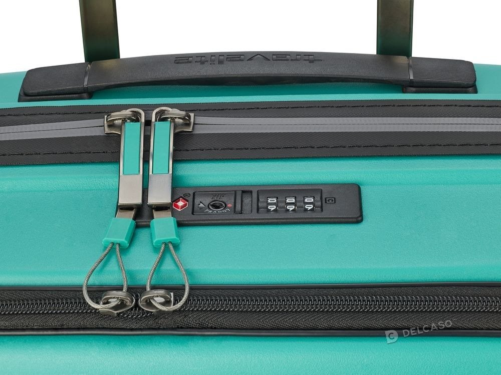 Walizka kabinowa - biznesowa Travelite Motion 55 cm mała miętowy