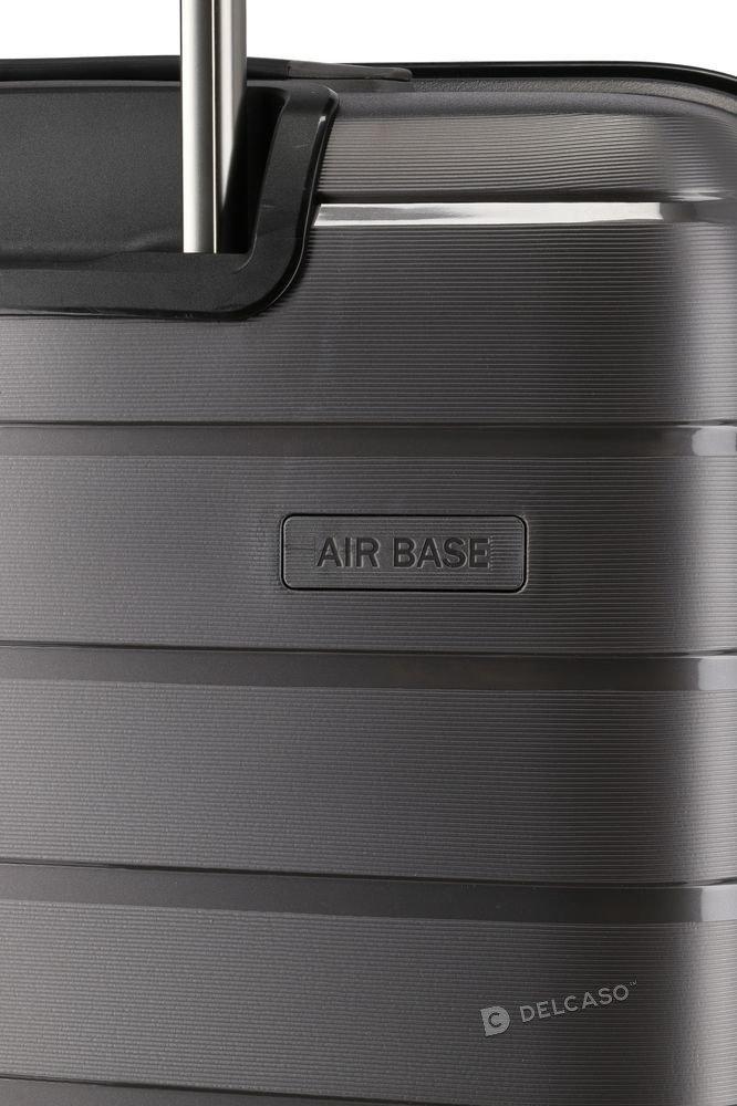 Walizka średnia Travelite Air Base 67 cm antracytowa