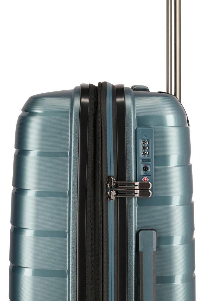 Walizka średnia Travelite Air Base 67 cm niebieska