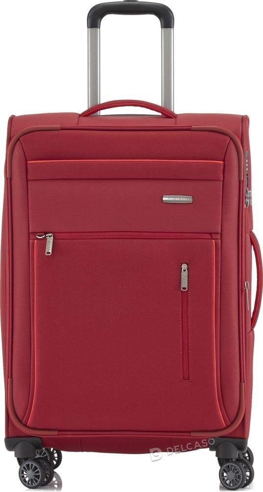 Walizka średnia Travelite Capri 66 cm czerwona
