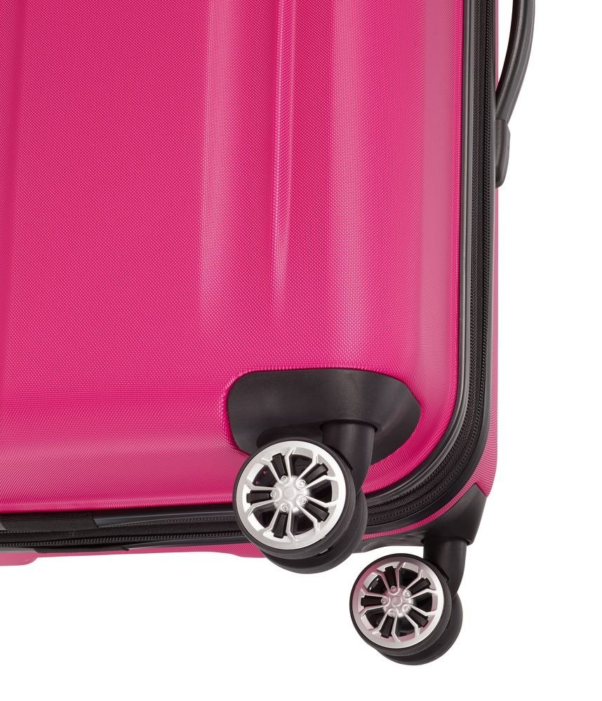 Walizka średnia Travelite City 68 cm różowa