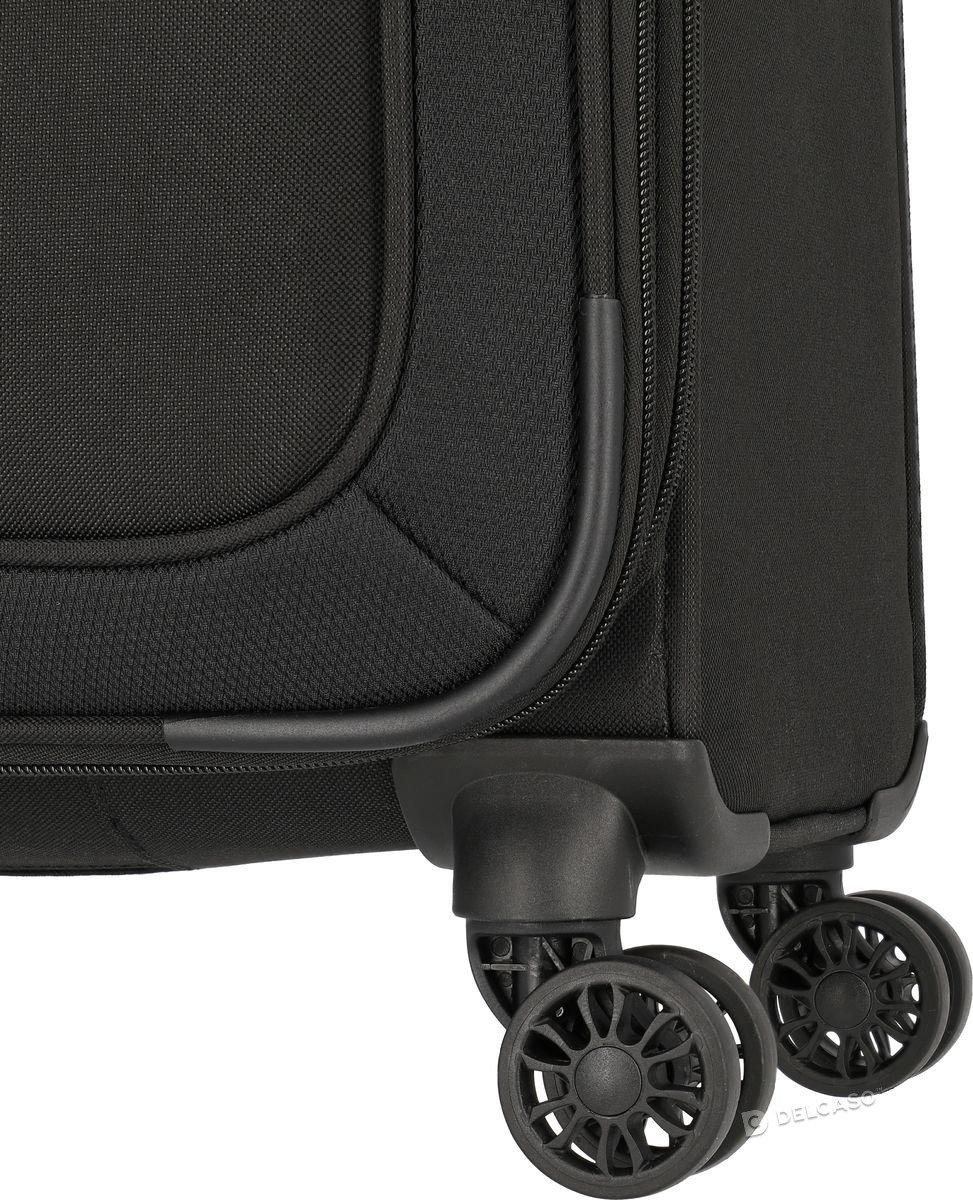 Walizka średnia Travelite Mako 66 cm czarna