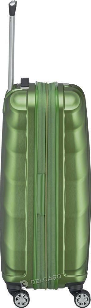 Walizka średnia - poszerzana Titan Shooting Star 66 cm zielona