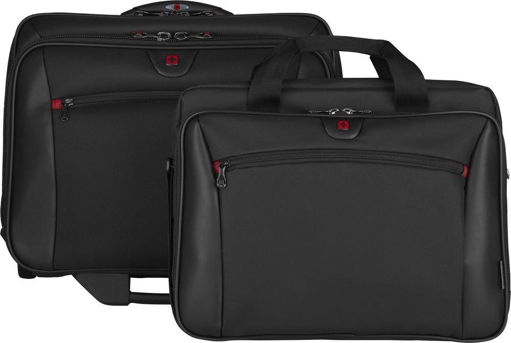 "Zestaw toreb na laptopa do 15,4"" i 17"" na kółkach Wenger Potomac czarny"