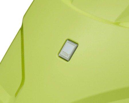 Kuferek / kosmetyczka Titan X2 Flash limonkowa