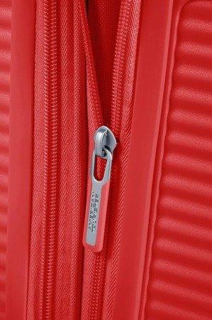 Walizka American Tourister Soundbox 67 cm powiększana intensywna czerwień