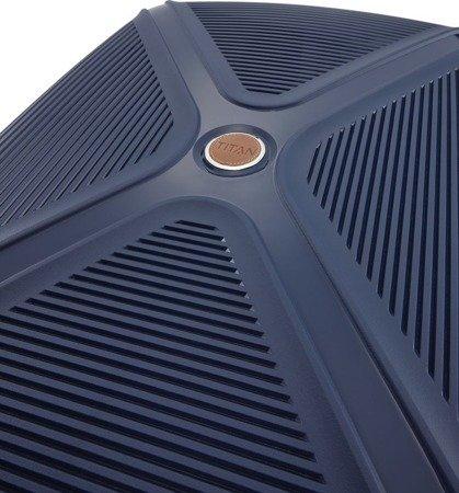 Walizka średnia - poszerzana Titan Paradoxx 68 cm niebieska